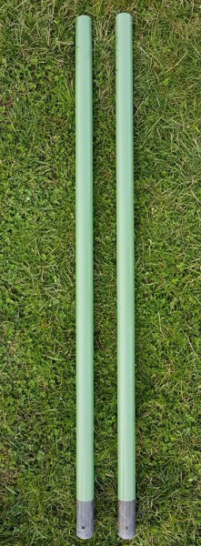 1 Paar Metallstiele für die Forke