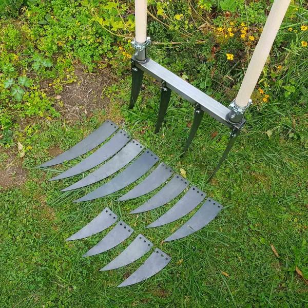 Doppelgrabegabel Forke Set (22, 28, 34 und 40cm)