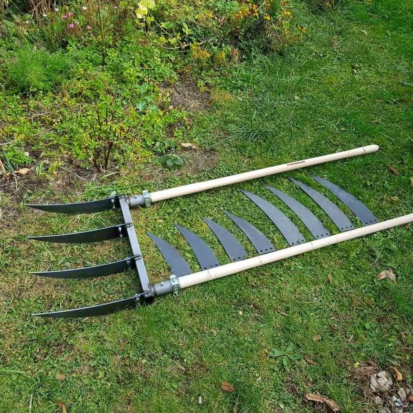Doppelgrabegabel Forke Set (28, 34 und 40cm)