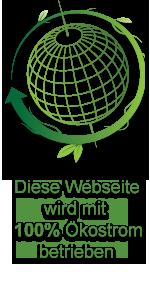 Diese Website wird mit 100% Ökostrom betrieben