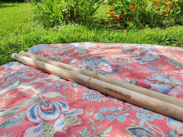 1 Paar Holzstiele für die Forke