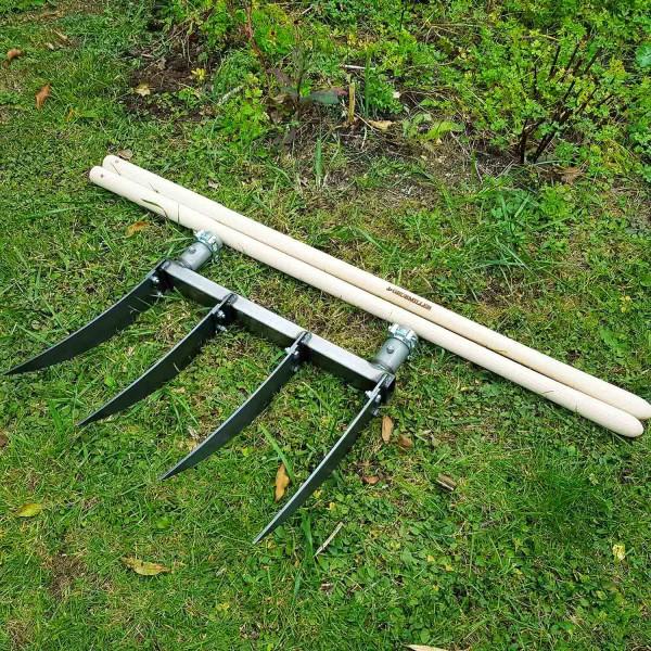 Doppelgrabegabel Forke 34 cm: Sehr tiefe Lockerung