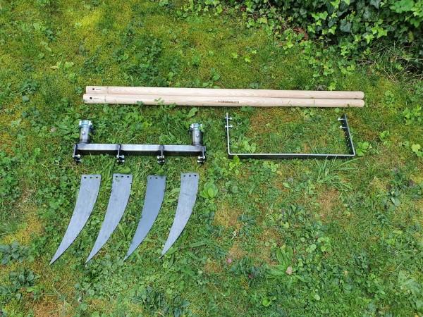 Doppelgrabegabel Forke 34 cm plus Kraftbügel