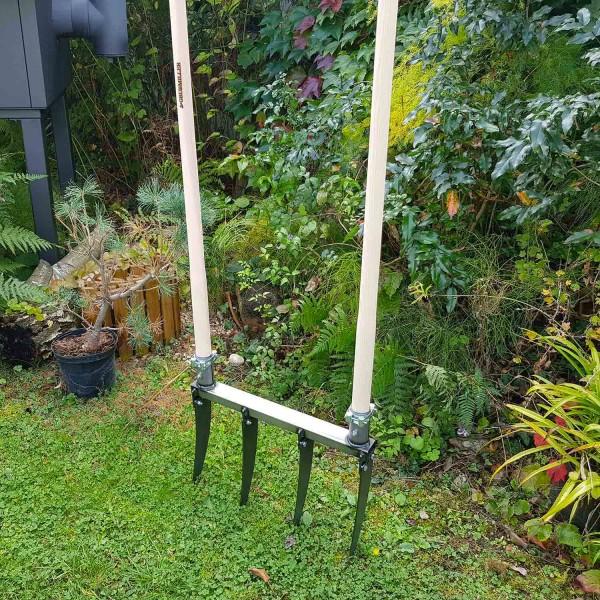 Doppelgrabegabel Forke 28 cm: Für die meisten Böden